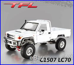 1/10 TFL Crawler 4WD DIY KIT C1507 LC70 RC Car Metal Chassis Model TOYOTA Shell