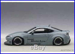 1/18 Autoart Rocket Bunny Toyota 86 (Concrete Grey/Black Wheels)