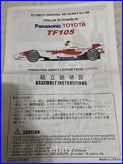 1/20 Studio 27 studio27 st27 Toyota TF105 F1 Grand Prix mfh hiro