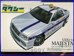 1/24 Aoshima Toyota Majesta UZS151 taxi VIP style (Ultra Rare!)