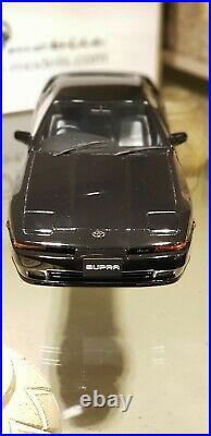 118 Toyota Supra 2.5 Twin Turbo By Otto Mobile 1990 OT222 1500pcs Black
