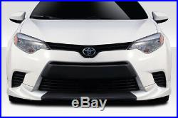 14-16 Toyota Corolla (Base Model) Zeta Duraflex Front Bumper Lip Body Kit 115046