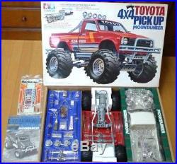 1981 Vintage TAMIYA 58111 Toyota Hilux Mountain Rider RC 4x4 Pick up Model Kit