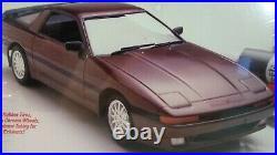 1987 Testors Fujimi Toyota Supra Turbo 1986-1993 124 Scale Model Kit # 373