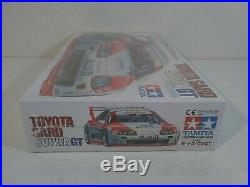 1996 Tamiya Toyota SARD Supra GT Sports Car Series 1/24 Scale Model Kit # 24167
