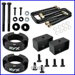 3 Front 3 Rear Lift Kit for 1995-2004 Toyota Tacoma 2WD 4WD Diff Drop