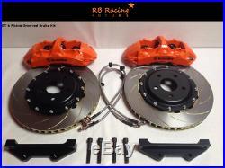 355mm GT 6 Piston Big Brake Kit Brembo Spec Toyota Supra Mk4 All Models TT / SZ