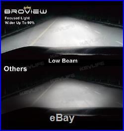 8000Lumen H4 HB2 Headlight Dual Beam Conversion Kit LED Bulb BroView S Series S7