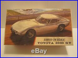 AIRFIX-24 / COX / TOYOTA 2000GT Model Kit VINTAGE 1/24 Made in ENGLAND