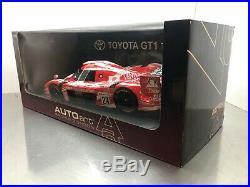 AUTOart 118 Toyota GT-ONE TS020 LeMans 1998 #29 89883