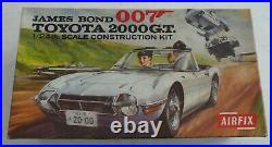 Airfix James Bond 007 Toyota 2000 Gt 124 Kit Sealed In Bag Incl Instructions