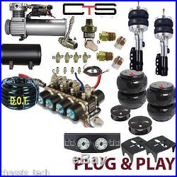 Any TOYOTA Front & Rear Air Suspension Kit all components shown most models