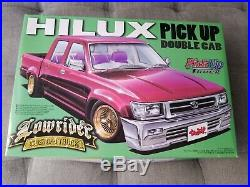 Aoshima 1/24 031629 Lowrider Custom Truck Toyota Hilux Pickup Double Cab 1992