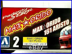 Aoshima 1/24 124 Maxorido Paddock Star 161 Toyota Gs Aristo Rare Model Kit