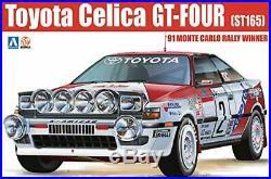 Aoshima 1/24 BEEMAX No. 2 Toyota Celica GT-FOUR ST165 1991 Monte Carlo Rally