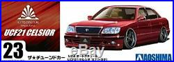 Aoshima 1/24 The Tuned Car No. 23 Toyota haute couture UCF21 Celsior 1997