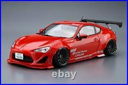 Aoshima 1/24 ZN6 Toyota86'12 Greddy & Rocket Bunny Enkei Ver. Model Kit NEW
