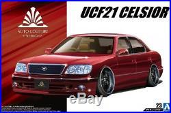 Aoshima 23 Toyota Auto Couture UCF21 Celsior 1997 1/24 Scale