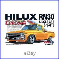 Aoshima 27783 1/24 Toyota Hilux RN30 Cal Look PickUp Truck from Japan Rare