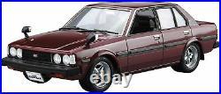 Aoshima 53454 The Model Car 44 Toyota E70 Corolla Sedan GT / DX 1979 1/24 scale