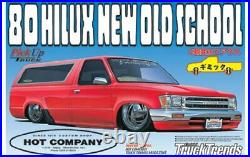 Aoshima Models 1/24 1980 Toyota Hilux New Old School Low Rider From Japan