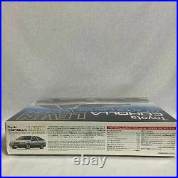 Aoshima TOYOTA Corolla Levin GT-Apex Late Ver. WithEngine 1/24 Model Kit #14716