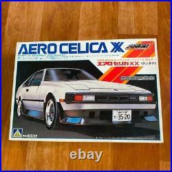 Aoshima Toyota Celica XX Aero 1/24 Sports Car Series 2 Model Kit
