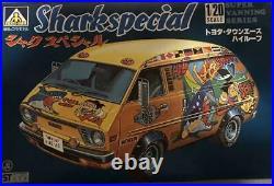 Aoshima Toyota Shark Special 1/20 Super Vanning Series Model Kit #15960