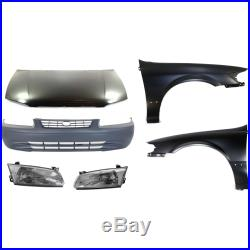 Auto Body Repair For 1997-1999 Toyota Camry Set of 6
