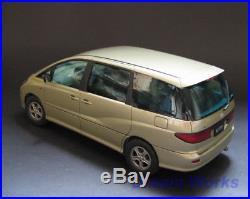 Award Winner Built FUJIMI 1/24 Toyota Estima/Previa 3.0 G van +Interior