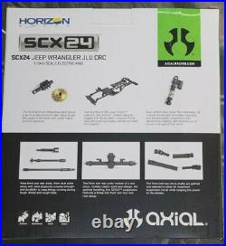 Axial 1/24 SCX24 Yellow Jeep Wrangler RTR AND AMT TOYOTA MODEL BODY KIT