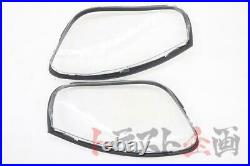 BEHRMAN WISE SQUARE Headlight Repair Lens Kit for Toyota Supra JZA80 Late Model