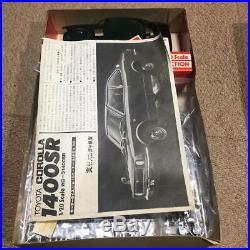 Bandai TOYOTA COROLLA 1400SR 1/20 Model Kit Vintage F/S #12364