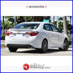 Body Kit Toyota Corolla Rs Model 2014 2016 Le Version