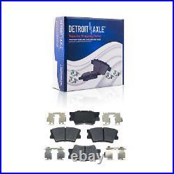 Brake Rotors + Ceramic Brake Pads Toyota Rav4 V6 Models Front Rear Brakes Kit