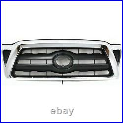 Bumper Cover Grille Assembly For 2005-2008 Toyota Tacoma Kit Front