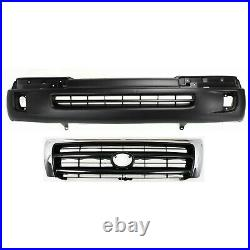 Bumper Cover Kit For 1998-2000 Toyota Tacoma Front 2WD Pre-Runner 4WD 2pc