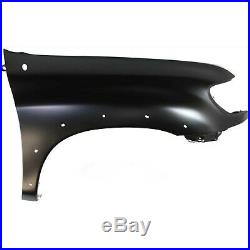Bumper Cover Kit For 2000-2002 Toyota Tundra Front Right 2pc with Fender