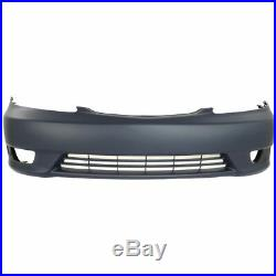 Bumper Cover Kit For 2005-2006 Camry Front For USA Built Models with Fender