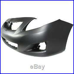 Bumper Cover Kit For 2009-10 Corolla Front CAPA Certified 2pc