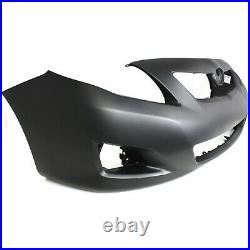 Bumper Cover Kit For 2009-10 Toyota Corolla Front CAPA Certified 2 Pieces