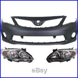Bumper Cover Kit For 2011-2013 Toyota Corolla Models Made In North America