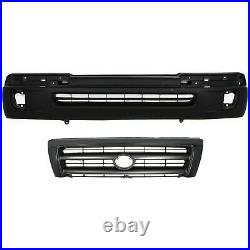 Bumper Cover Kit For 98-2000 Tacoma 2WD Pre-Runner 4WD Front 2pc