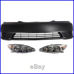 Bumper Kit For 2005-2006 Toyota Camry Front For Models Made In USA 3Pc