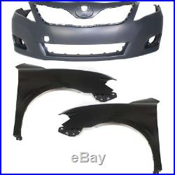 Bumper Kit For 2010-2011 Toyota Camry Front For Models Made In Japan CAPA 3Pc