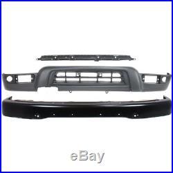 Bumper Kit For 99-2002 Toyota 4Runner Front For Models With Fender Flares 3Pc
