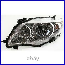 CAPA Auto Body Repair For 2009-2010 Toyota Corolla Front Primed Bumper Cover