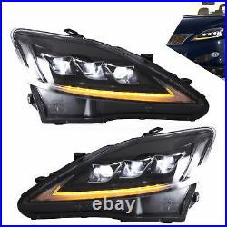 Clear LED Headlight Replacement Pair for 20062012 Lexus IS250 IS350 IS F Model