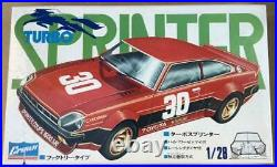 Crown Toyota Turbo Sprinter Coupe 1600 SR 1/28 Model Kit #17360