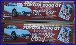 DOYUSHA 1/20 TOYOTA 2000 GT James Bond